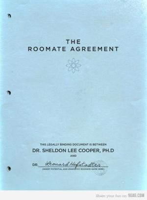 sheldonsRoommateAgreement